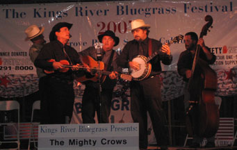 Mighty Crows at the Kings River festival in Sanger 2007